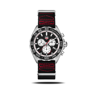TAG Heuer Herrenuhr Formula 1 Quartz Chronograph 43mm CAZ101E.FC8228