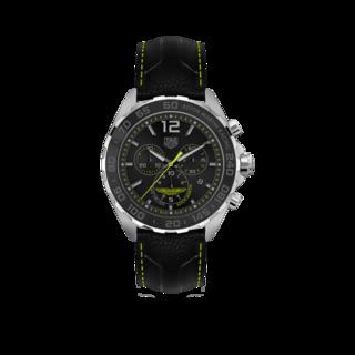 TAG Heuer Herrenuhr Formula 1 Quartz Chronograph Aston Martin CAZ101P.FC8245