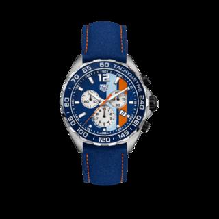 TAG Heuer Herrenuhr Formula 1 Quartz Chronograph Gulf CAZ101N.FC8243