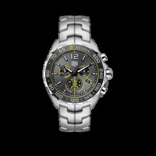 TAG Heuer Herrenuhr Formula 1 Quarz Chronograph 43mm, Senna Spezial Edition CAZ101AF.BA0637
