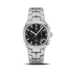 TAG Heuer Herrenuhr Link Automatic Chronograph 41mm CBC2110.BA0603