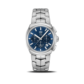 TAG Heuer Herrenuhr Link Automatic Chronograph 41mm CBC2112.BA0603