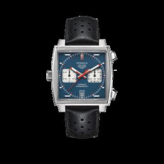 TAG Heuer Herrenuhr Monaco Calibre 11 Chronograph 39mm CAW211P.FC6356