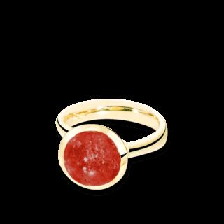 Tamara Comolli Ring Bouton Almandin-Granat L R-BOU-L-GAR-YG
