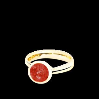 Tamara Comolli Ring Bouton Almandin-Granat S R-BOU-S-GAR-YG