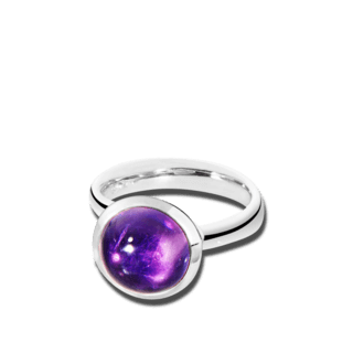Tamara Comolli Ring Bouton Amethyst L R-BOU-L-AM-WG