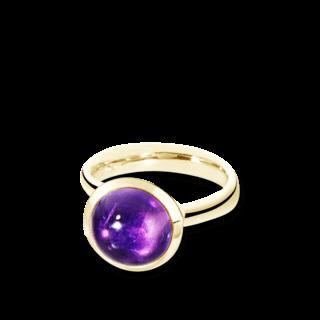 Tamara Comolli Ring Bouton Amethyst L R-BOU-L-AM-YG