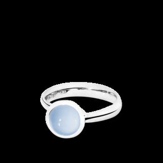 Tamara Comolli Ring Bouton Blauer Chalcedon S R-BOU-S-CHBL-WG