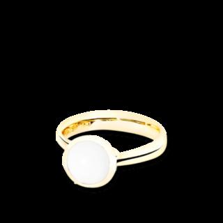 Tamara Comolli Ring Bouton Cacholong S R-BOU-S-CACH-YG