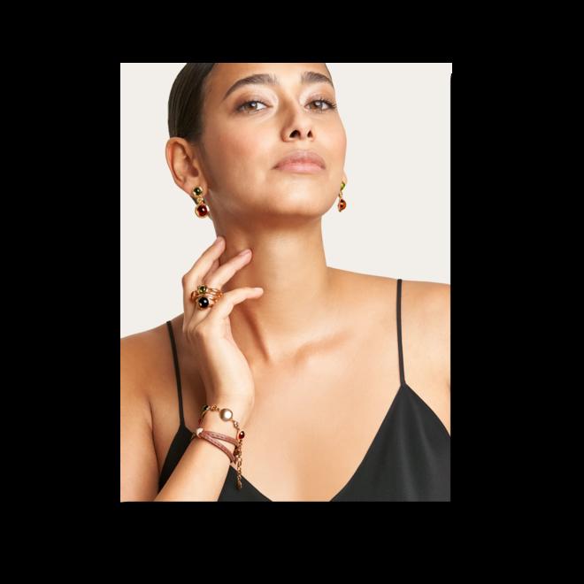 Armband Tamara Comolli Indian Summer aus 750 Roségold mit mehreren Edelsteinen bei Brogle