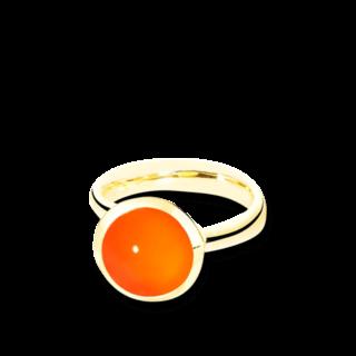 Tamara Comolli Ring Bouton Karneol L R-BOU-L-CARN-YG