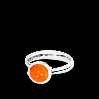 Tamara Comolli Ring Bouton Karneol S R-BOU-S-CARN-WG