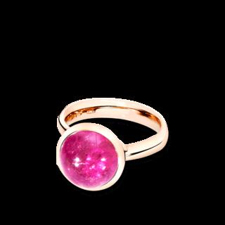 Tamara Comolli Ring Bouton L Pinkfarbener Turmalin R-BOU-L-TUPI-RG