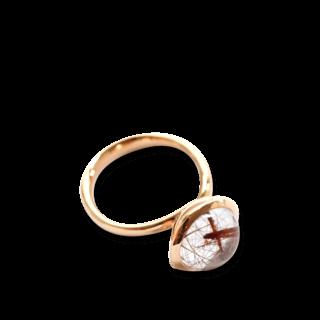 Tamara Comolli Ring Bouton L Rutilquarz R-BOU-L-RUQU-RG