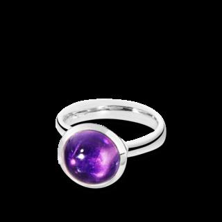 Tamara Comolli Ring Bouton Large Amethyst R-BOU-L-AM-WG