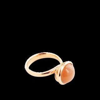Tamara Comolli Ring Bouton Large Caramel Mondstein R-BOU-L-MOCAR-RG