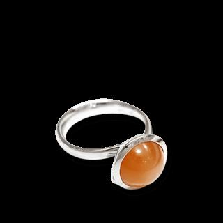 Tamara Comolli Ring Bouton Large Caramel Mondstein R-BOU-L-MOCAR-WG