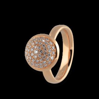 Tamara Comolli Ring Bouton Large Diamant Pavé R-BOU-L-P-RG