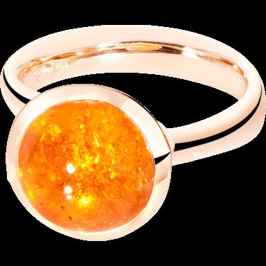 Tamara Comolli Ring Bouton Large Mandarin Granat R-BOU-L-MAN-RG