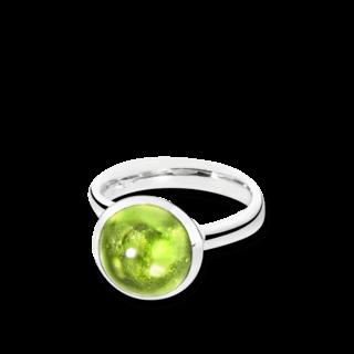 Tamara Comolli Ring Bouton Large Peridot R-BOU-L-PER-WG
