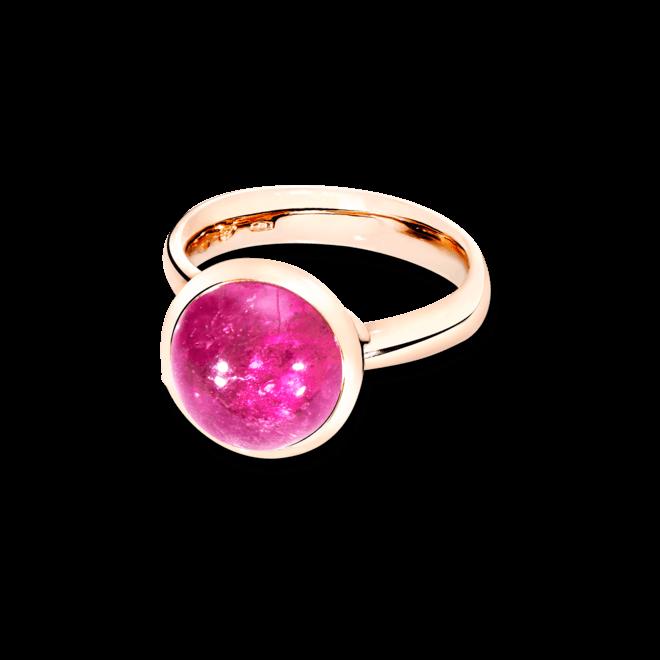 Ring Tamara Comolli Bouton Large Pink Turmalin aus 750 Roségold mit 1 Turmalin
