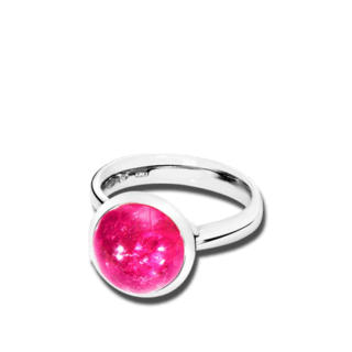 Tamara Comolli Ring Bouton Large Pink Turmalin R-BOU-L-TUPI-WG