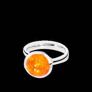 Tamara Comolli Ring Bouton Mandarin-Granat L R-BOU-L-MAN-WG
