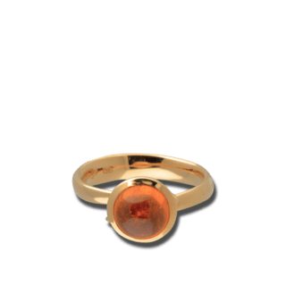 Tamara Comolli Ring Bouton Mandarin-Granat S R-BOU-S-MAN-RG