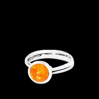 Tamara Comolli Ring Bouton Mandarin-Granat S R-BOU-S-MAN-WG