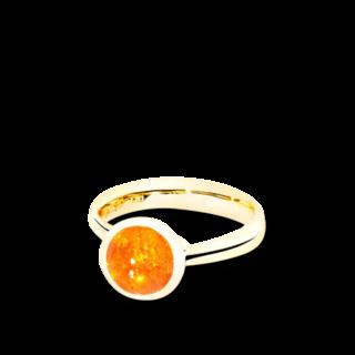 Tamara Comolli Ring Bouton Mandarin-Granat S R-BOU-S-MAN-YG