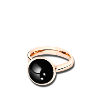 Tamara Comolli Ring Bouton Onyx L R-BOU-L-ONYX-RG
