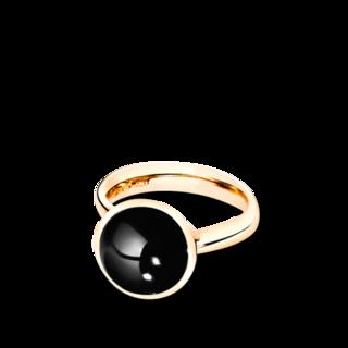 Tamara Comolli Ring Bouton Onyx L R-BOU-L-ONYX-YG