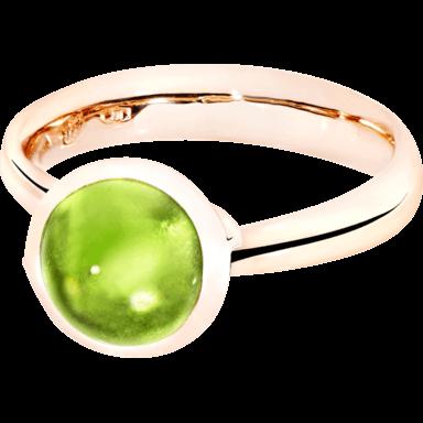Tamara Comolli Ring Bouton Peridot S R-BOU-S-PER-RG