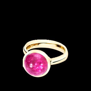 Tamara Comolli Ring Bouton Pinkfarbener Turmalin L R-BOU-L-TUPI-YG