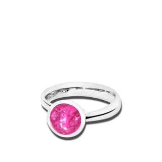 Tamara Comolli Ring Bouton Pinkfarbener Turmalin S R-BOU-S-TUPI-WG