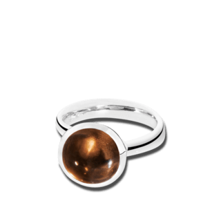 Tamara Comolli Ring Bouton Rauchquarz L R-BOU-L-SMQU-WG
