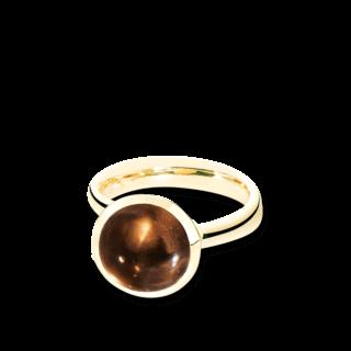 Tamara Comolli Ring Bouton Rauchquarz L R-BOU-L-SMQU-YG