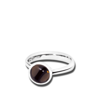Tamara Comolli Ring Bouton Rauchquarz S R-BOU-S-SMQU-WG