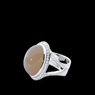 Tamara Comolli Ring Bouton R-CUSH-MOSA-L-WG