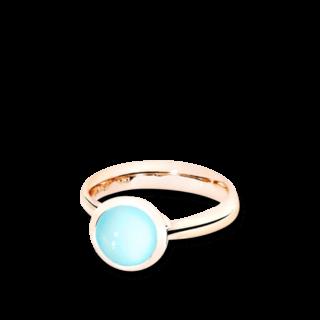 Tamara Comolli Ring Bouton S Aqua-Chalcedon R-BOU-S-CHAQ-RG