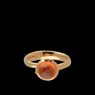 Tamara Comolli Ring Bouton S Mandarin-Granat R-BOU-S-MAN-RG