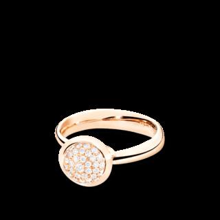 Tamara Comolli Ring Bouton S Pavé R-BOU-S-P-RG
