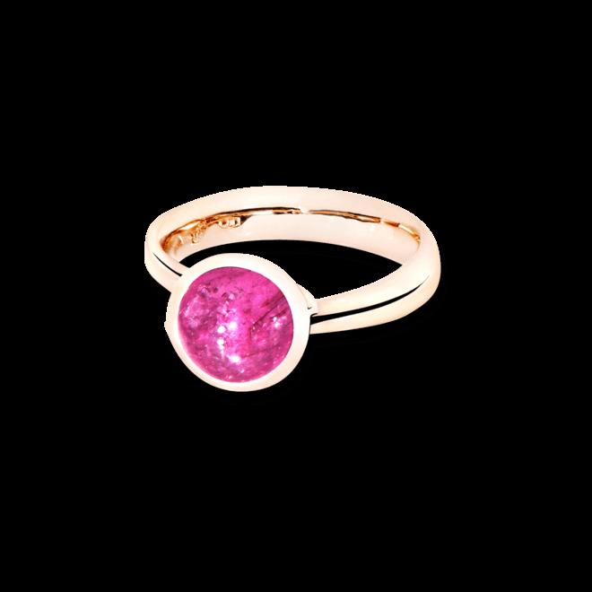 Ring Tamara Comolli Bouton S Pinkfarbener Turmalin aus 750 Roségold mit 1 Turmalin