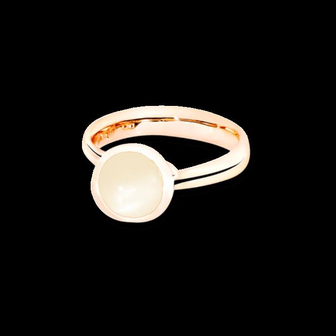 Ring Tamara Comolli Bouton Sand-Mondstein S aus 750 Roségold mit 1 Mondstein