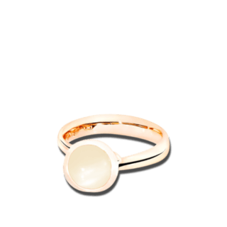 Tamara Comolli Ring Bouton Sand-Mondstein S R-BOU-S-MOSA-RG
