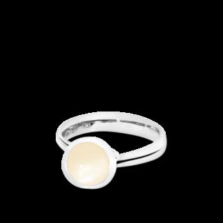Tamara Comolli Ring Bouton Sand-Mondstein S R-BOU-S-MOSA-WG