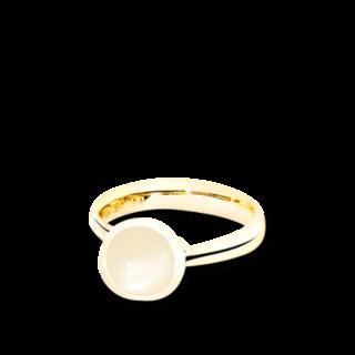 Tamara Comolli Ring Bouton Sand-Mondstein S R-BOU-S-MOSA-YG