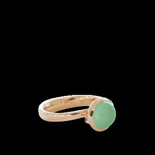 Tamara Comolli Ring Small Apfelgrüner Chalcedon R-BOU-S-CHAP-RG