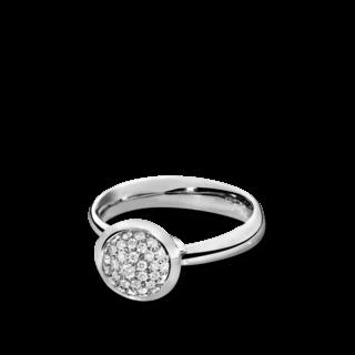 Tamara Comolli Ring Bouton Small Diamant Pavé R-BOU-S-P-WG