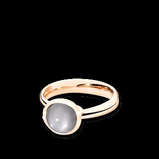 Tamara Comolli Ring Bouton Small Grauer Mondstein R-BOU-S-MOGR-RG